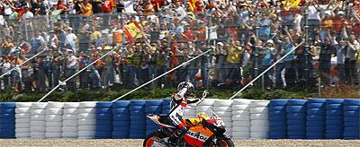 Mi primer podio en MotoGP