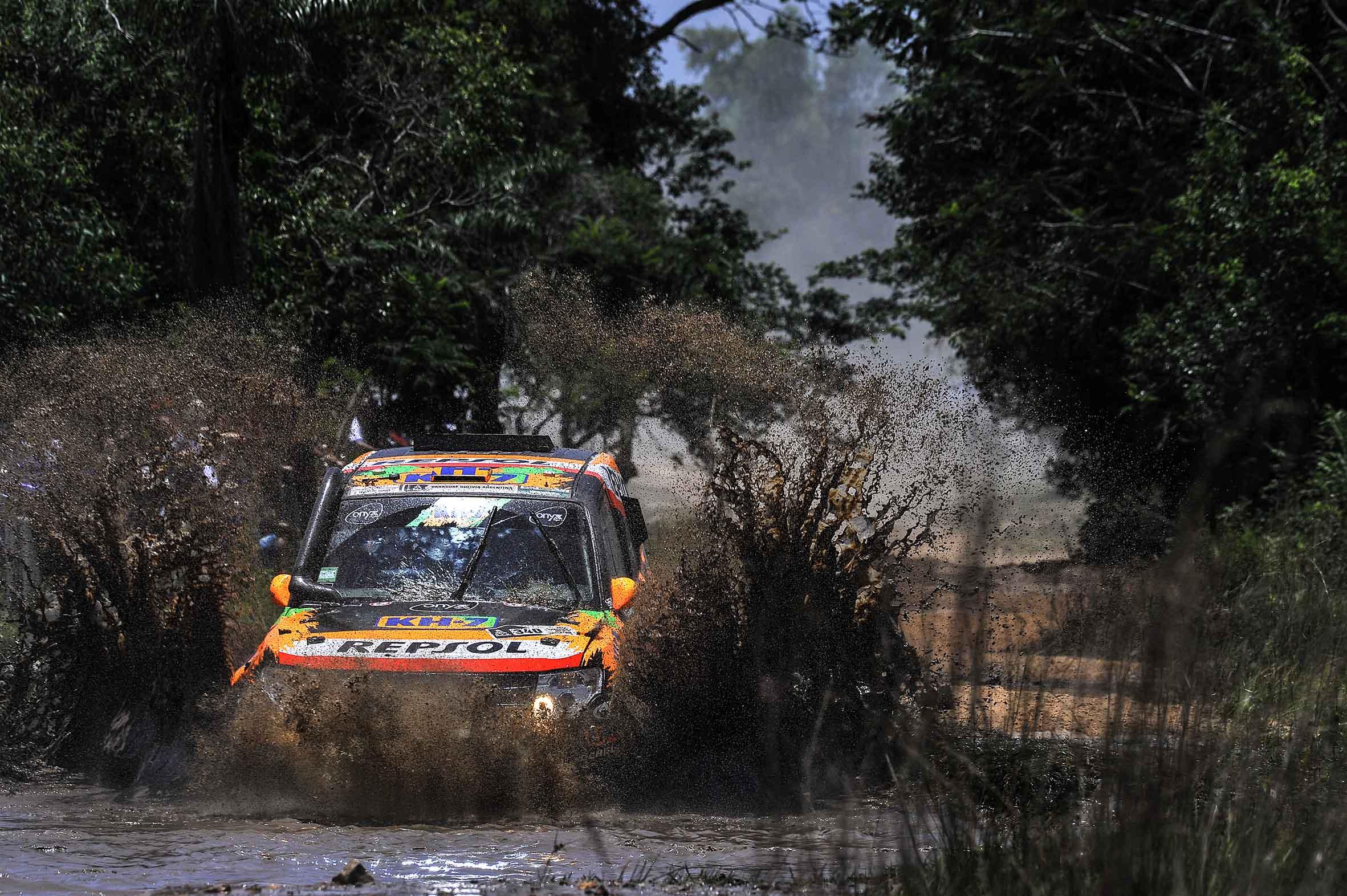Esteve y Villalobos Dakar 2017