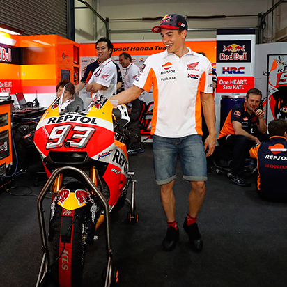 Marc Márquez and Repsol lubricants: a world championship winning team