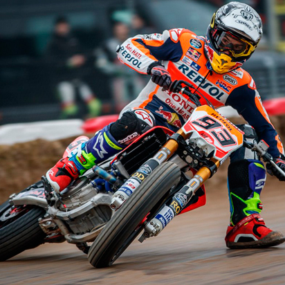Dirt tracking, Marc Márquez's other passion