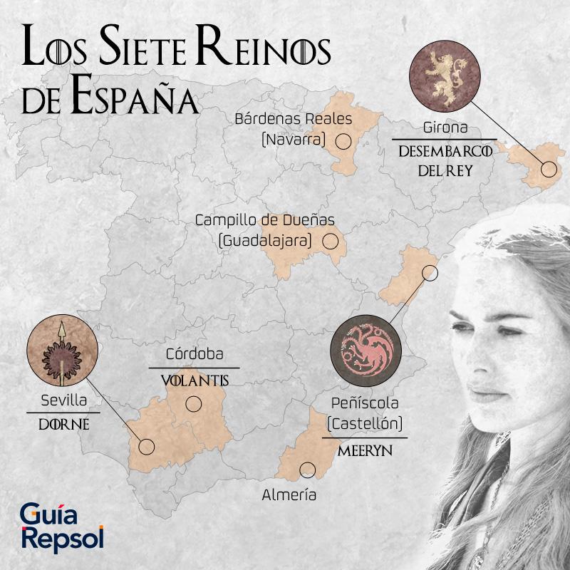 Juego de Tronos: los siete reinos de España