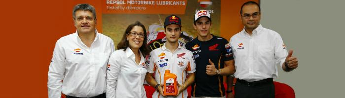 Repsol presenta su nueva gama de lubricantes para motos