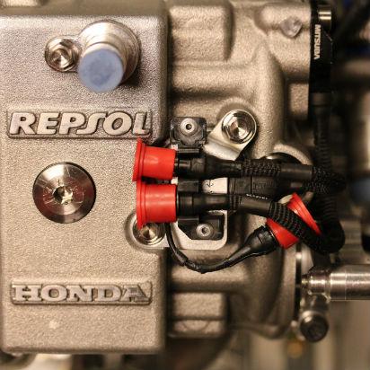 Máxima confidencialidad: tecnología del equipo Repsol Honda 2017