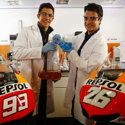Márquez y Pedrosa descubren la ciencia de sus motos