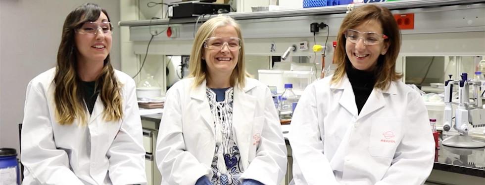 Mujeres científicas del CTR
