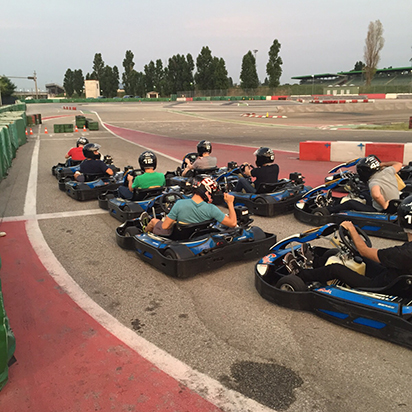 Dinner, go-karts, and laughs