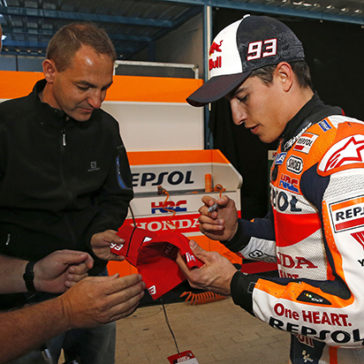 Motocross, cycling, and now MotoGP