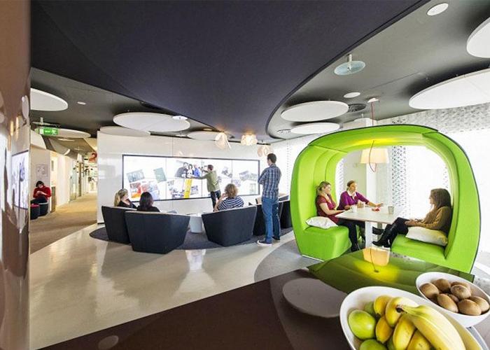 Espacios de trabajo de cuento for Repsol oficinas