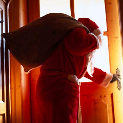 Papá Noel y los valores del trabajo